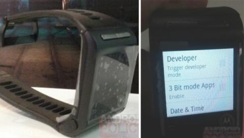 Aparecen imágenes de posible smartwatch de Google y Motorola