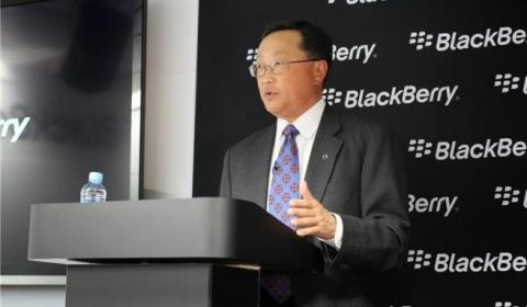 John Chen BlackBerry MWC 2014
