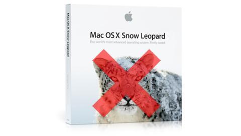 mac os x snow leopard fin de soporte