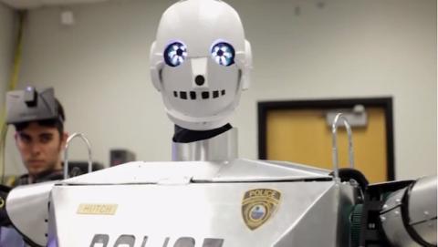 Usan Oculus Rift para TeleBot policial