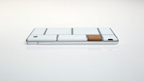 Parte de atrás del prototipo de smartphone Project Ara