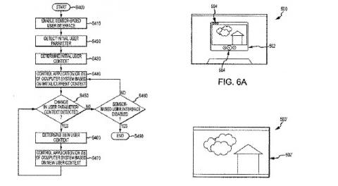 Apple patente interfaz usuario dinámica
