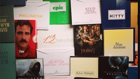 Los Oscar 2014 y la piratería: así se filtran los screeners