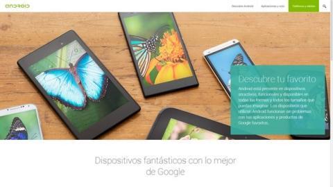 Web oficial Android.com ya en español