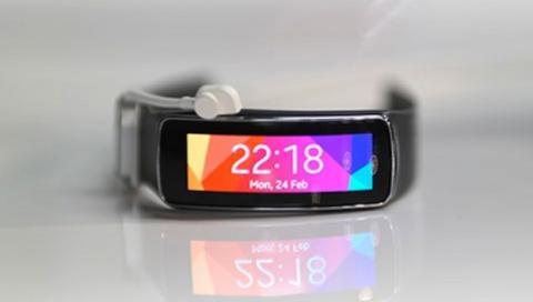 Así es la pulsera Samsung Gear Fit en vídeo