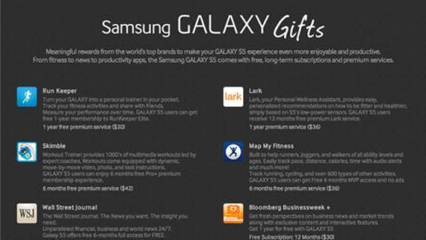 Samsung Galaxy S5 se venderá con un pack valorado en 576$