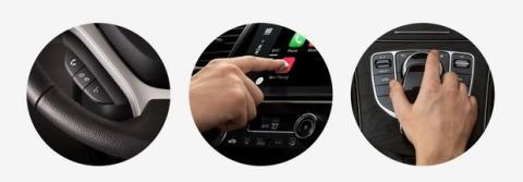 Botones Apple CarPlay