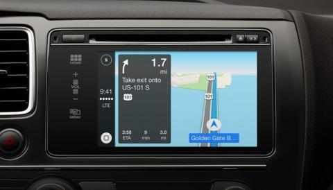 Apple Car Play Mapas