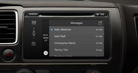 Apple CarPlay mensajes