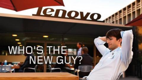 Ashton Kutcher ya trabaja en los tablets de Lenovo