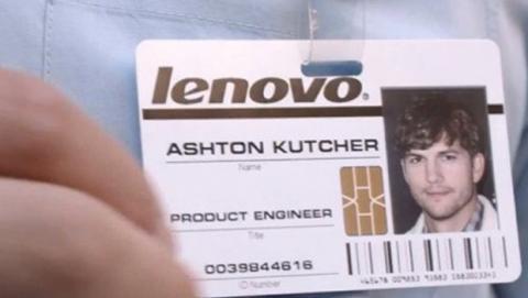 Ashton Kutcher trabaja para Lenovo
