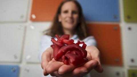 La impresión 3D permite implantes de corazón a medida