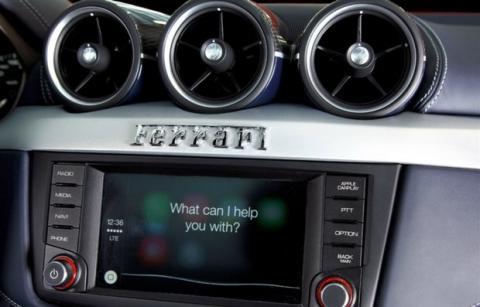 Ferrari FF y Apple CarPlay