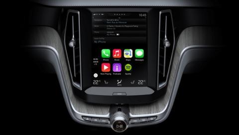 El nuevo Volvo XC90 SUV 2014, el primer vehículo equipado con Apple CarPlay