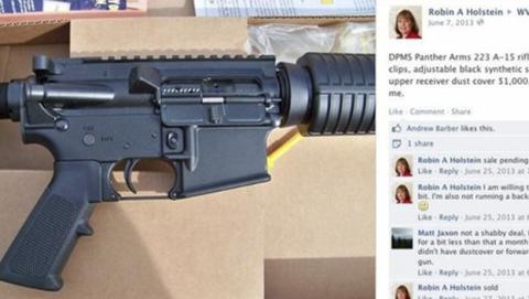 venta armas facebook