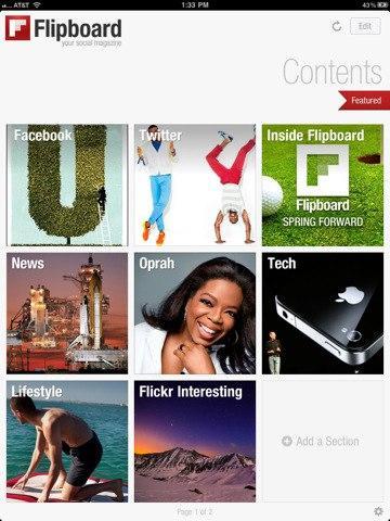 Flipboard compra Zite, su rival, por 60 millones de dólares