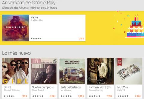 Google Play celebra 2º cumpleaños con grandes descuentos