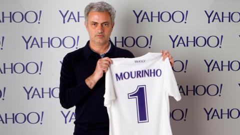 Jose Mourinho firma con Yahoo como comentarista