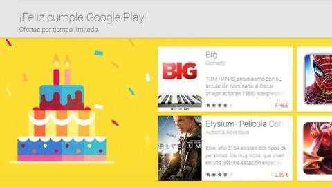 La película Big de Tom Hanks, gratis por tiempo limitado en el aniversario de Google Play