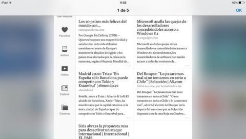 Instapaper, la app para convertir páginas web en texto, ya en español