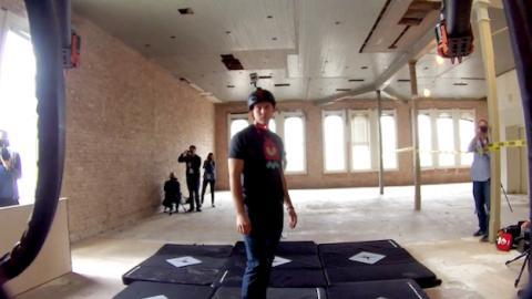 Desarrollan un drone volador con taser de 80.000 voltios