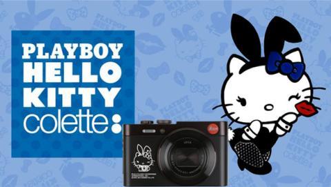 Playboy y Hello Kitty se unen para crear una cámara Leica