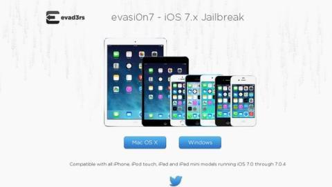 Jailbreak no es compatible con la actualización de iOS 7.1