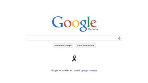 Google homenajea a las víctimas del atentado del 11-M en su buscador