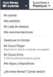 Gestionar mi Kindle