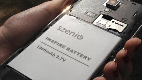 Szenio bateria