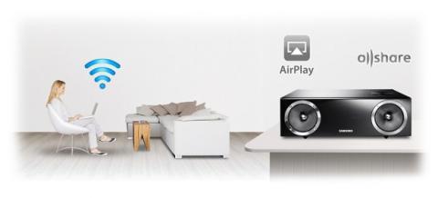 altavoces airplay allshare