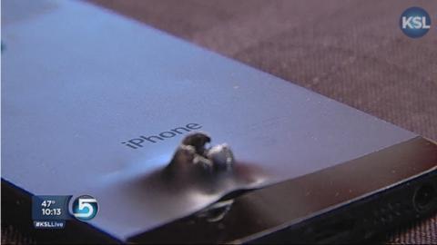iPhone 5S salva la vida de un soldado en Afganistán, al detener la metralla de la bomba de un suicida