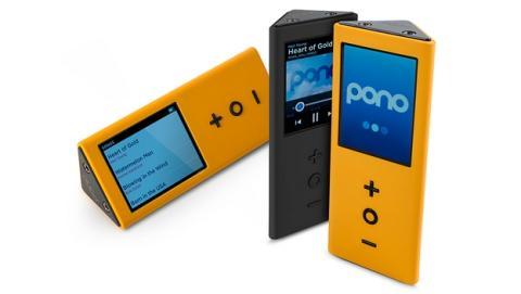 PonoPlayer, el reproductor musical portátil de música en alta definición con calidad de estudio creado por Neil Young, disponible en la tienda PonoMusic