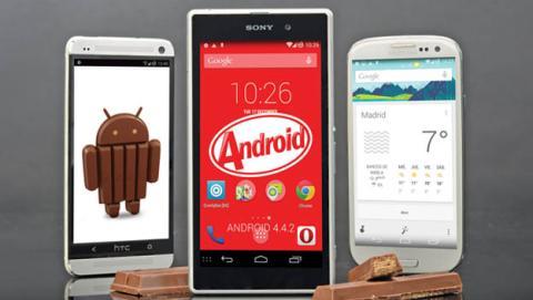 Consigue las mejores funciones de Android KitKat
