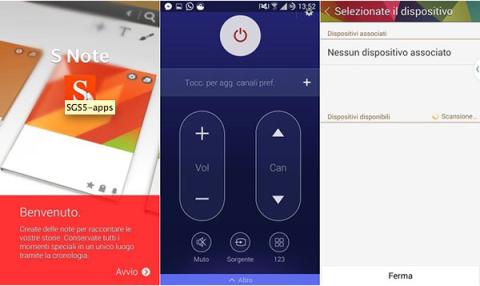 aplicaciones del S5 para Android 4.4