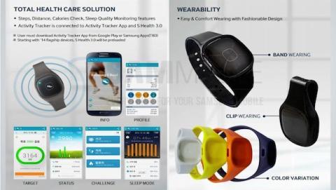 Así es la nueva S Band de Samsung