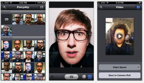 Sección Selfies en la App Store