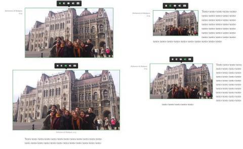 Diferentes modos de inserción de imágenes en Medium