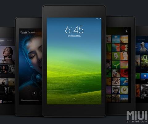 ROM MIUI de Xiaomi para Nexus 7