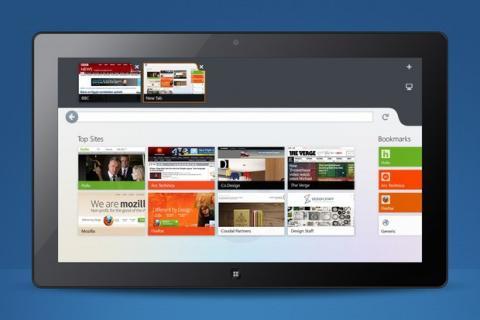 Versión Metro de Firefox para Windows 8