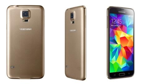 El Samsung Galaxy S5 dorado, en exclusiva con Vodafone
