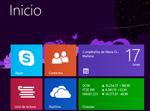 live tiles windows 8.1