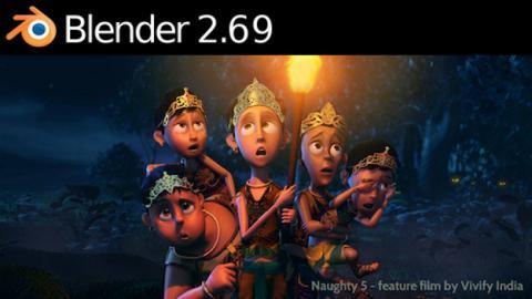 Blender es un programa de creación de imágenes 3D con resultados espectaculares