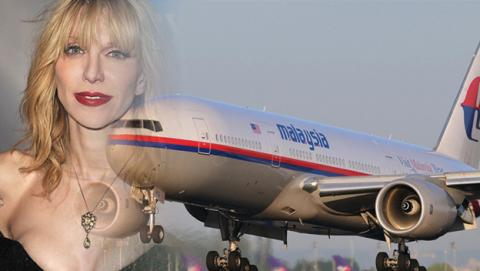 malaysia airlines courtney love
