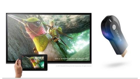 Google Chromecast ya a la venta y en stock en España, para ver contenido en streaming de tu smartphone o tablet en la tele.