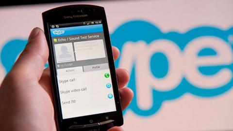 Skype se actualiza en Android con mejoras en batería