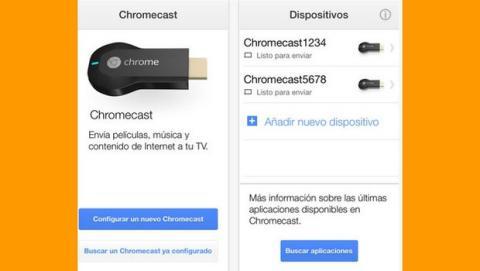 App Chromecast en español