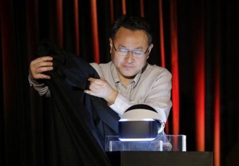 Project Morpheus, gafas de realidad virtual de Sony. Foto: Rapid City Journal