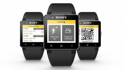 Sony y Vueling presentan la primera tarjeta de embarque vestible del mundo, para smartwatch