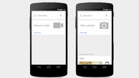 Google Now permite hacer fotos y vídeos con comandos de voz